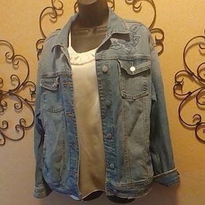 Universal Thread Oversized Jean Jacket